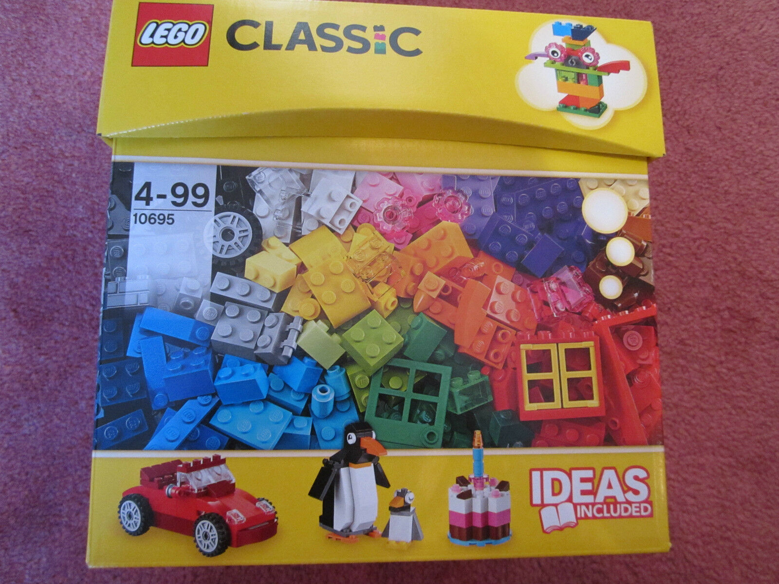 LEGO CLASSIC CREATIVE BUILDING BUILDING BUILDING BOX 10695 - 580 PIECES - NEW SEALED 530906
