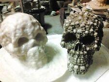 Skull of Skulls Mold Latex for Concrete, Plaster even Wax