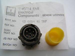 Thorn-EMI-Connector-05-0251-10-7PF-7-Gold-Pin-Plug-OM0492