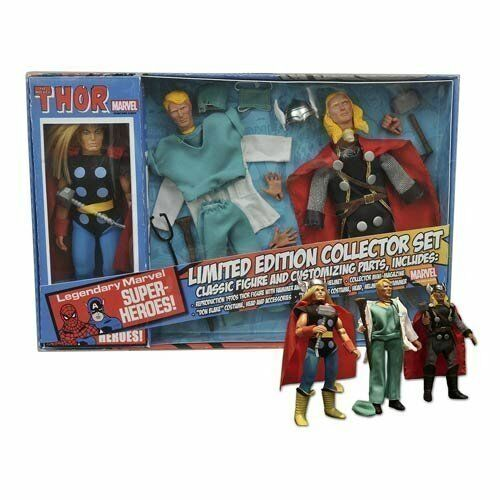 Thor 8 pouces Retro Action Figure Set