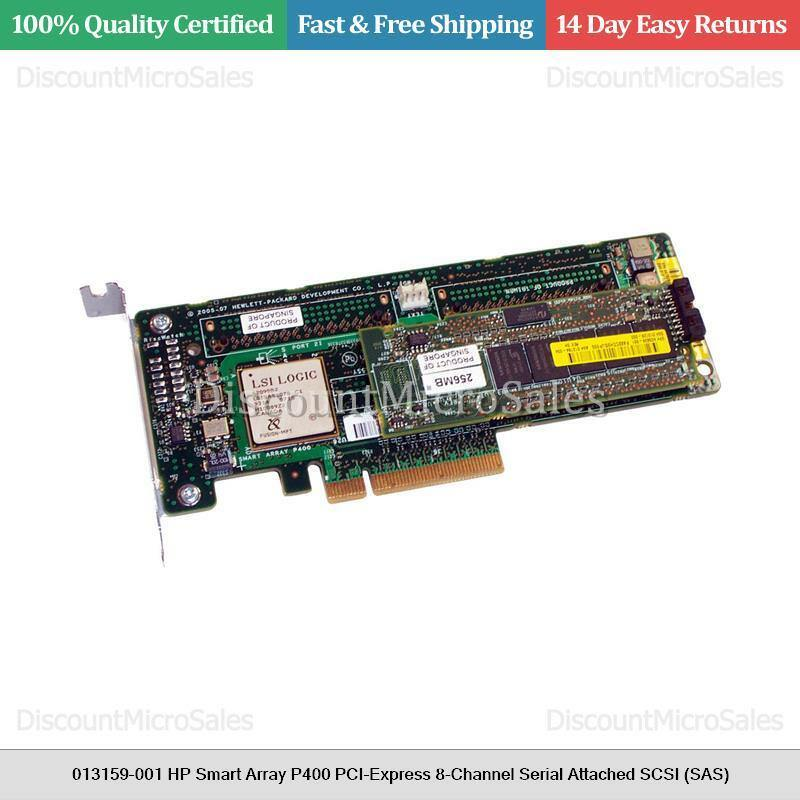 013159-001 HP Smart Array P400 PCI-Express 8-Channel Serial Attached SCSI (SAS)