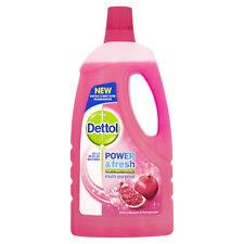 2 x Dettol Power & Fresh Multi-Purpose Cherry Blossom & Pomegranate 1L