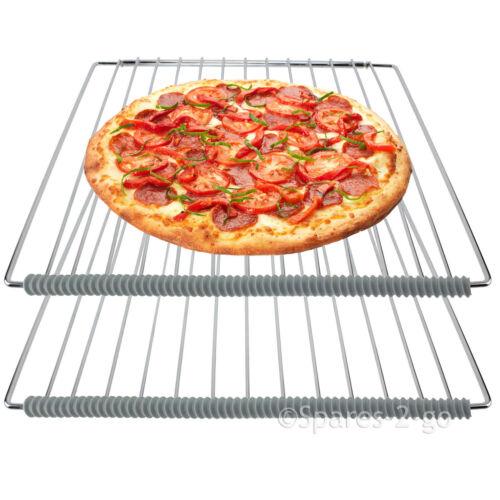4 x Universal Four Cuisinière étagère Gravure Gardes résistant à la chaleur des bandes de silcone