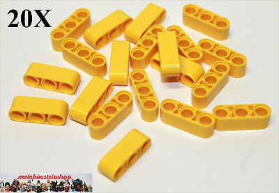 Affidabile 20x Lego ® 32523 Tecnologia Spessore Lift Braccia Beams 1x3 Giallo Yellow Nuovo-mostra Il Titolo Originale Acquista One Give One