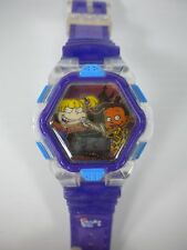 Rugrats Movie Chatback Digital Wrist Watch Susie & Angelica - Fast Free Shipping