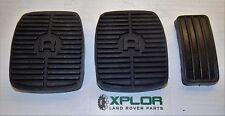 LAND ROVER DISCOVERY RANGE ROVER BRAKE, CLUTCH and ACCELERATOR PEDAL PADS SET
