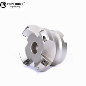 AL-KM12 63-22-4T Face Milling cutter 45 Degree Indexable Face mill For SEHT1204