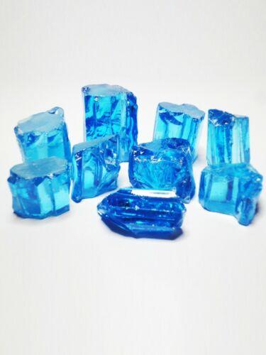 Pur 18k 14k or taille émeraude Swiss Blue Quartz Boucles d/'oreilles crochet Leverback 8-03