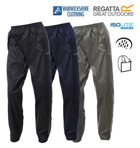 Regatta-Unisex-Waterproof-Breathable-Packaway-Lightweight-Over-Trousers