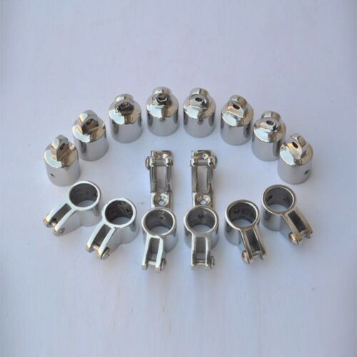 """Set of 16 4-Bow 7//8/"""" Bimini Top Stainless Steel Boat Fittings Marine Hardware"""
