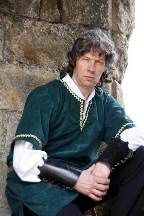 Mittelalterlich   Larp oder Kostüm geflochten Tunika in alle Größen  | Vollständige Spezifikation