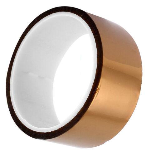 40mm 4cm x 30M Kapton Tape High Temperature Heat Resistant Polyimide