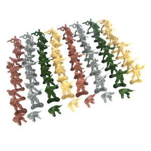 100-pcs-Plastic-Military-Soldiers-Army-Men-5cm-Figures-Sand-Scene-Model-Accs