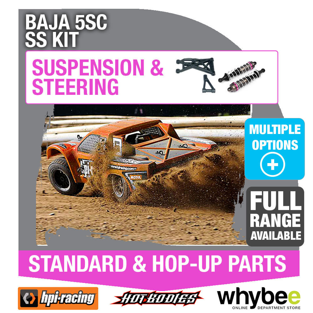 HPI BAJA 5SC SS KIT [Steering & Suspension Parts] Genuine HPi Racing R C Parts