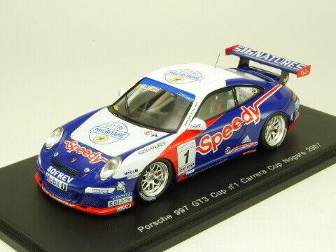 SPARK 1 43 PORSCHE 997 GT3 Cup  Speedy  CARRERA CUP NOGARO 2007  1 from Japan