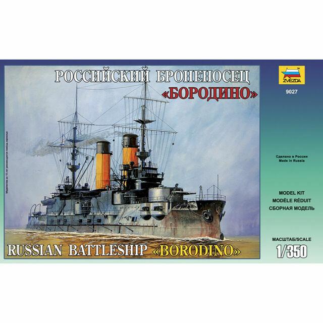 Zvezda Models Borodino Russian Battleship