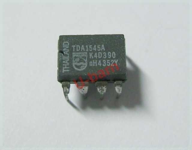 5Pcs TDA1543 Dual 16-Bit Dac Chip DIP-8 US Stock w