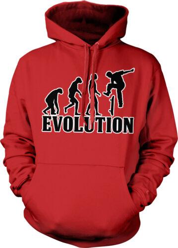 Evolution Skateboard Jump Board Ollie Skate Extreme Hawk Trick Hoodie Sweatshirt