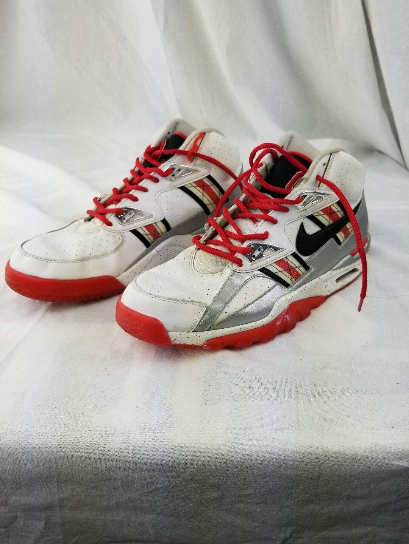 Nike scarpe air trainer sc alto premio qs scarpe Nike da ginnastica uomini ohio state university 10 dc4ae8