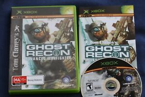 Tom-Clancy-039-s-GHOST-RECON-ADVANCED-WARFIGHTER-PAL-game-for-XBOX
