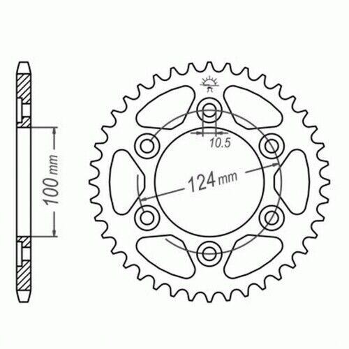 S1 DID Kettensatz Ducati ST2 NIETSCHLOSS extra verstärkt 97-03