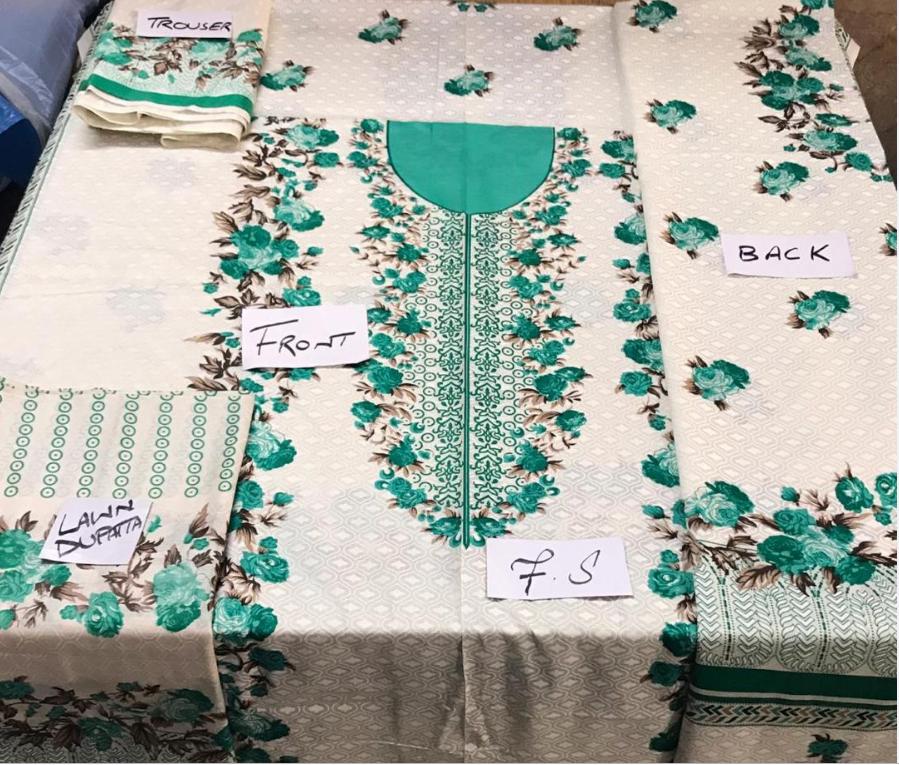 PAKISTANAIS Maria B Costume 2019 Luxe dernière collection shalwar kameez décousu