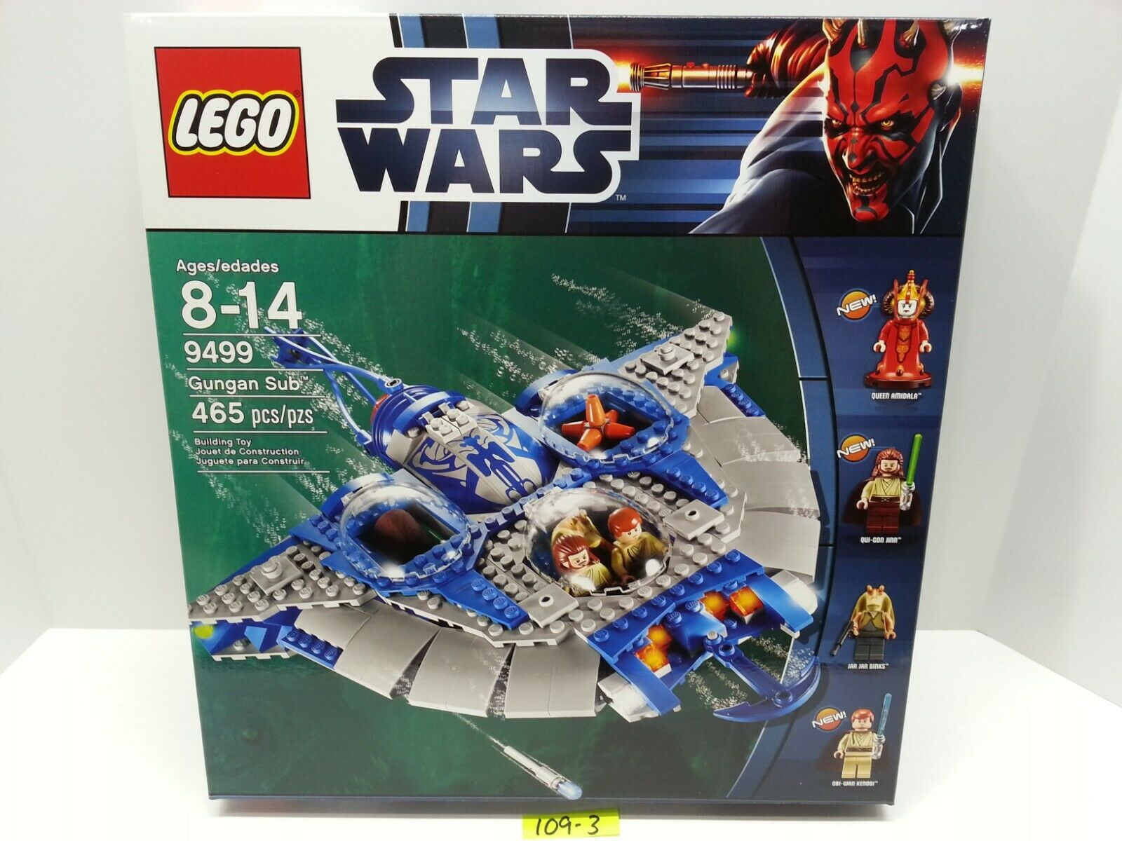 designer online Lego Lego Lego Gungan Sub (9499) Retirosso Product  nuovo & Mint in Sealed scatola  regina Amidala   fabbrica diretta