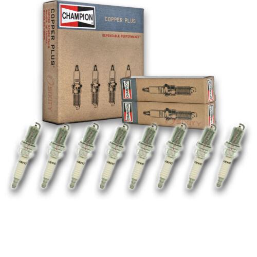 8 pc Champion Copper Spark Plugs for 1986-1988 Oldsmobile Cutlass Supreme jh