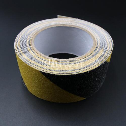 "3/"" Black Yellow Anti Slip Tape 33/' High Grip Adhesive Backed Non Slip Tape"