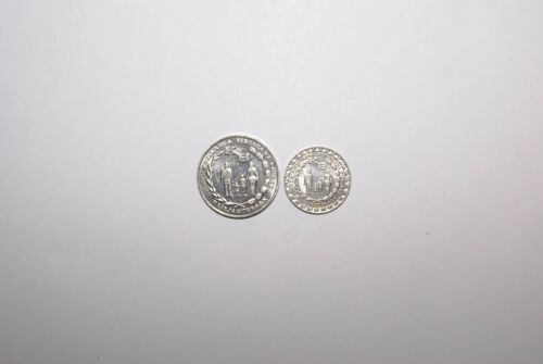 2 DIFFERENT 5 RUPIAH COINS from INDONESIA DATING 1974 /& 1979 2 TYPES