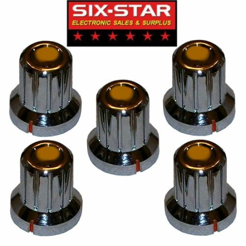5 NEW REPLACEMENT KNOBS FITS COBRA 25 29 LTD OTHER CB RADIOS OR OTHER PROJECTS