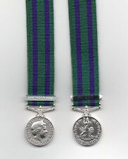 **NEW MINIATURE** GENERAL SERVICE MEDAL 2008 WITH CLASP: SOUTHERN ASIA