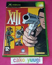 XIII XBOX VERSION 100% FRANCAISE EXCELLENT ETAT