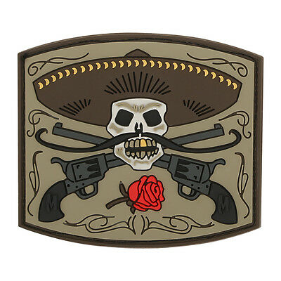 PVC Morale Patch - MAXPEDITION - EL GUAPO - BANDITO - ARID colors - Hook & Loop