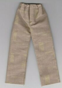Homemade Doll Clothes-Cornflower Colored Pants fits Ken Doll P4