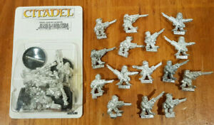 Multi-listing-of-Ogryns-Ratling-Snipers-Blisters-metal-models-Imperial-Guard-OOP