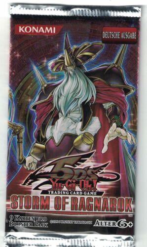 Yu-Gi-Oh 1 Booster storm of ragnarok Deutsche Version OVP