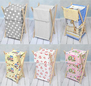 LAUNDRY-BASKET-BAG-BIN-STORAGE-REMOVABLE-LINEN-BABY-BEDDING-SET-HAMPER-NURSERY