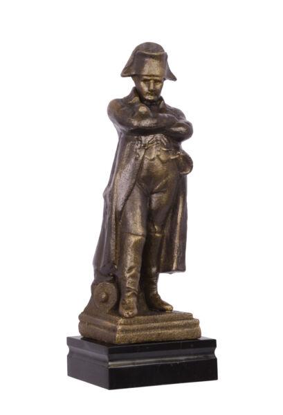 Napoleon Scultura Arrossare Ghisa Simil Bronzo Antik-deko Statua Statuina Colori Armoniosi
