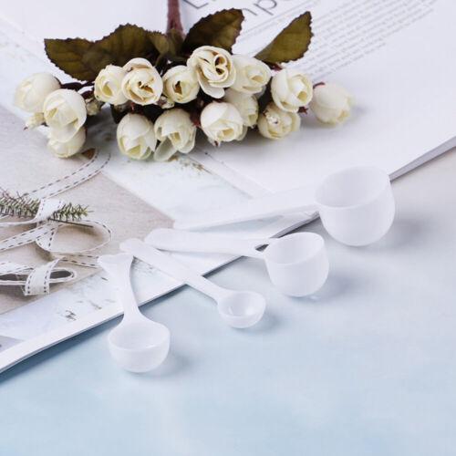 Home DIY Protein Powder Scoop Plastic  Measuring Spoon 1//3//5//10g Coffee Milk