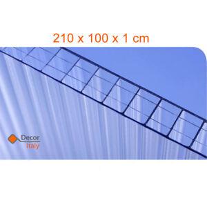 Lastra-Policarbonato-Alveolare-Makrolon-2100x1000x10mm-4-pareti-Trasparente