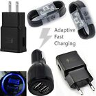 Black OEM Samsung Galaxy S8 S8 Plus Type-c Cable Fast Charging Car /Wall Charger