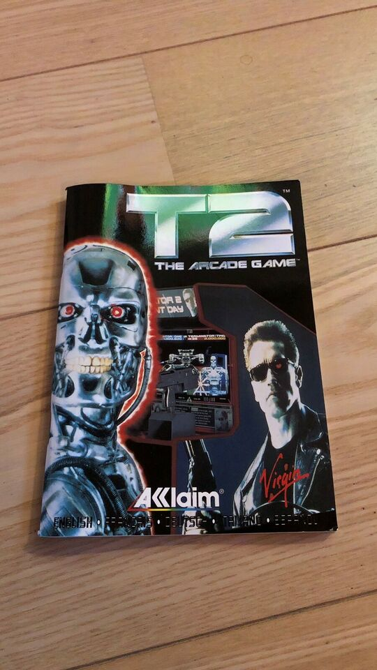 Terminator 2 the arcade game, Amiga spil