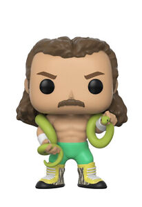 Funko Pop!   Wwe 51 Jake Le Serpent Roberts Chase Edition Limitée Neuf