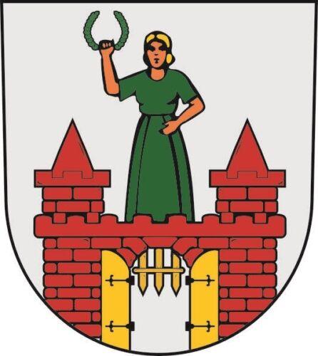 Aufkleber Magdeburg Wappen Autoaufkleber Sticker Konturschnitt