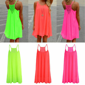 Sexy-Womens-Summer-Mini-Dress-Sleeveless-Casual-Evening-Party-Beach-Sundress-New
