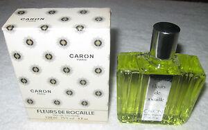 Vintage Caron Fleurs De Rocaille Cologne Bottle/Box 4 OZ 120 ML Full/Sealed