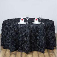 120 Round Grandiose Rosette Tablecloth