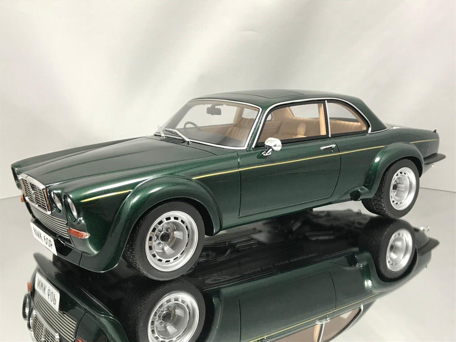 GT  SPIRIT JAGUAR XJ12 Coupé Broadspeed Big Cat The nouveau Avengers vert 1 18  meilleure qualité