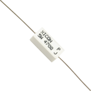 Resistor Resistor Element Material Wirewound 1Ws Temperature Coeffi Mcknp Series 5/% 47R Resistor Case Style Axial Leaded Wirewound Resistance 47Ohm Resistance Tolerance /± 5/% Power Rating 1W